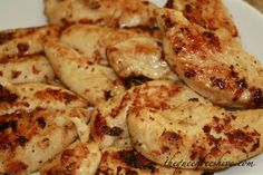 Crockpot Lemon Chicken - Put 1 Stick of butter in bottom of crock pot. Lay chicken in pot. Sprinkle Italian dressing packet over chicken, drizzle with lemon juice, pop the lid on. Cook on High 4-5 hours, or Low 6-8 hours. - Click image to find more popular food & drink Pinterest pins