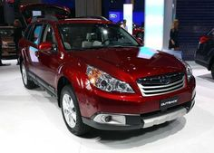 2014 Subaru Outback Red Facelift