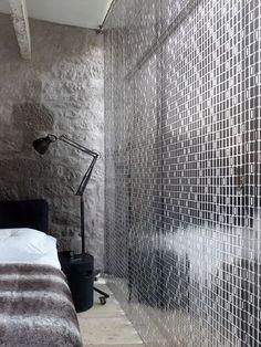 Vorhang / Geometrische Motive / aus Metall / aus Edelstahl SAINT PÈRES LE LABO DESIGN