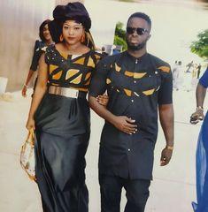 Maabo Source by netiatia Nigerian Men Fashion, Latest African Fashion Dresses, African Men Fashion, African Wear, African Dress, Mega Fashion, Fashion Models, Fashion Outfits, Couples African Outfits