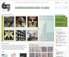 """Smart History - A free online alternative to expensive art history textbooks.  Web Address:http://ift.tt/kpqBCKIntheirown words:""""Smarthistory is a leading resource for the study of art and cultural heritage. Our growing collection of videos and essays are designed to be engaging and conversational and cover art that ranges from the paleolithic to the present. Everything on Smarthistory is completely free and our content is offered with no advertising. We are a tiny non-profit organization…"""