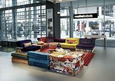 Roche Bobois In Dusseldorf, Germany · Mah Jong SofaRoche ...