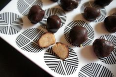 Bite-sized thoughts: Vegan coconut banana chocolate truffles