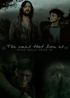Harry Potter and Sirius Black. Saga Harry Potter, Mundo Harry Potter, Harry Potter Quotes, Harry Potter Books, Harry Potter Love, Harry Potter Universal, Harry Potter World, Potter Box, The Golden Trio