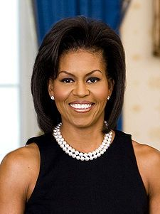 First Lady Michelle Obama, wife of President Barack Obama