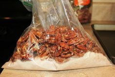Cinnamon Sugar Pecans - the best and easiest - you will eat them UP!