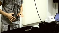 """Ryo Fujimoto is Beatboxer / Electronic Musician. His art is called """" Humanelectro """". He controls effects with the right hand, the left hand is synth sounds o..."""