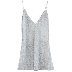 Sequin Slip Dress ❤ liked on Polyvore featuring dresses, sequin slip dress, slip dress, sequin dresses and sequin embellished dress