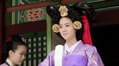 Kara SeungYeon in Hanbok @ Drama 'Jang Ok Jeong'