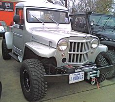 Looking for jeep wrangler rubicon, or jeep recall, Click visit link above to find out Jeep Pickup, Jeep Truck, Cool Trucks, Pickup Trucks, Lifted Trucks, Vintage Jeep, Vintage Trucks, Willis Pickup, Willis Truck