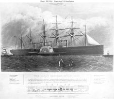 This page features, and provides links to, all the views we have concerning the steamship Great Eastern of Sea Crafts, Water Crafts, Isambard Kingdom Brunel, Isle Of Dogs, Beyond The Sea, Paddle Boat, Boat Painting, Fantasy Setting, Tall Ships