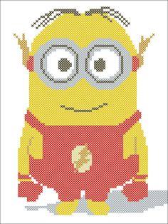 BOGO FREE Cross stitch pattern Minion by Rainbowstitchcross
