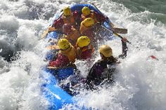 Wet and Wild in New Zealand. My blog on my white water rafting experience there!