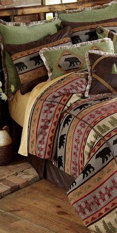 Montana Bear Bedding