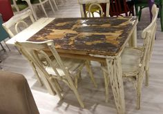 Tables, Dining Table, Rustic, Paint, Furniture, Home Decor, Country Primitive, Homemade Home Decor, Mesas