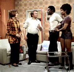 Love Thy Neighbour - based around a suburban white working class couple attempting to come to terms with having a black couple as next-door neighbours. Love Thy Neighbour was hugely popular at the time of its broadcast; during an era in which Britain struggled to come to terms with its recently-arrived population of black immigrants, Love Thy Neighbour exemplified this struggle. It aroused great controversy
