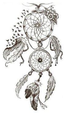 Dream catcher tattoos are a little cliche, but I love this. Bild Tattoos, Love Tattoos, Beautiful Tattoos, Body Art Tattoos, New Tattoos, Tatoos, Atrapasueños Tattoo, Piercing Tattoo, Tattoo Drawings
