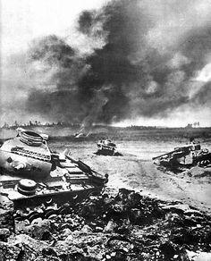 The battle of Kursk.1943 Prohorovka-July 12,