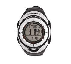 Sensor Climático Portátil Eletronic Adventure de Pulso  - Sensor Climático; - Altímetro: medição de -706m à 9164m; - Barômetro: medição de 300hPa/mbar ã 1100hPa/mbar; - Bússola Digital medição de 0 graus à 359 graus, ponteiro de norte magnético, 16 direções; - Termômetro: medição de -10C à 60C; - Timer; - Pacer: medição 30 - 180 bips por minuto; - Cronômetro: ; - Relógio; - Timekeeping (medidor de tempos de treino/corrida);