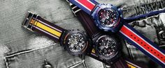 #GSHOCK premiers the military cloth band for #fall !