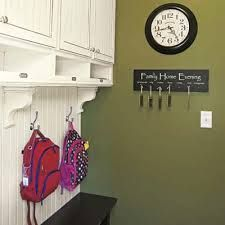 Personalize your mudroom