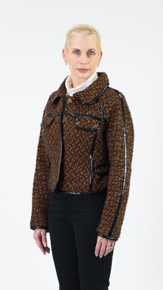 Magaschoni Collection Tweed Coat