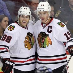 10 years ago today, Patrick Kane and Jonathan Toews took the ice in their first NHL game together - the rest is Blackhawks history #blackhawks #chicagoblackhawks #nhl #hockey #chicago