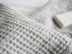 Linen bath towel- large sauna waffel towel- beach towel- gift