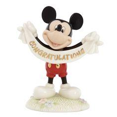 Disney's Mickey's Congratulations Figurine