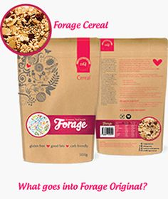 Forage Original cereal gluten free - Endorsed by Coeliac Australia