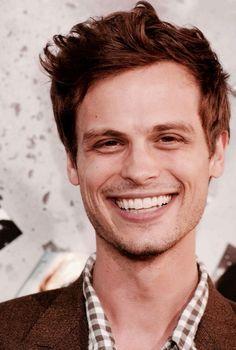 Matthew Gray Gubler.... ♥ I love this man's smile!