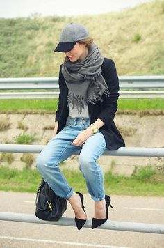 Boyfriend Jeans And . . . (How To Style Your Boyfriend Jeans)