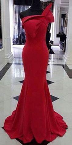 Oblique-neckline Bowknot Full-length Trailing Dress  #wedding
