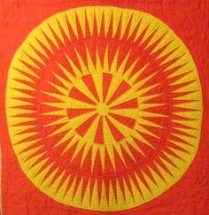 antique starburst quilt 1850