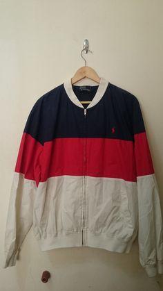 Vintage Polo Ralph Lauren Stripe Jacket