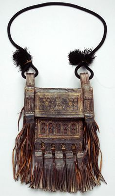 Africa | Shoulder bag from Morocco | Leather