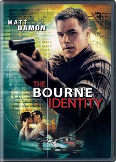 Bourne Identity DVD movie video at CD Universe, Matt Damon is an agent that washes ashore with amnesia and eludes assassins, THis extended edition includes an all-new. Jason Bourne, Matt Damon, The Bourne Identity, Julia Stiles, Love Movie, Movie Tv, Bd Collection, Bourne Movies, Movie Posters