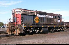 RailPictures.Net Photo: PWNR 1501 Portland & Western Railroad EMD SD7 at Albany, Oregon by Marty Bernard