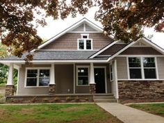 Front of New House