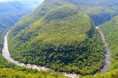 Parque do Vale da Ferradura (Canela), um local com belíssimas paisagens e diversas opções de trilhas e mirantes.  -  Jane Rosana Cassol