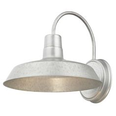 Barn Light Galvanized 12-Inch Wide by Design Classics Lighting | 663-GAL | Destination Lighting