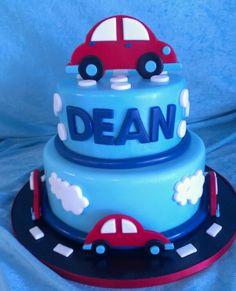 Boys car cake