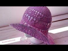 Aprende a tejer una Pamela VINTAGE paso a paso I SUMMER I PARTE 1/2 cucaditasdesaluta - YouTube