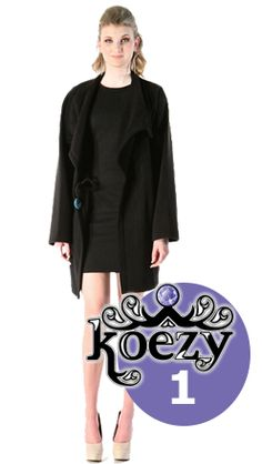 KOEZY is just what every woman needs to take the place of that (ubs) ugly black sweater we carry around just in case. KOEZY is a full fashion accessory that will take women from work to play, night and day, inside and outside, four seasons a year. KOEZY is an amazingly soft, high quality, micro fleece wrap that will add comfort and style to any outfit.  Available in black, ivory and camel - $49.99