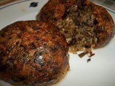 Κουζινοπαγίδα της Bana Barbi: Τζιγεροσαρμάδες Baked Potato, Pork, Easter, Sweets, Beef, Ethnic Recipes, Drink, Pork Roulade, Good Stocking Stuffers