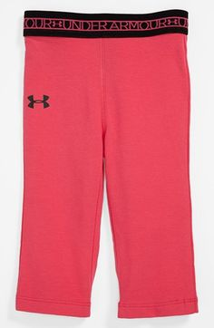 Under Armour Yoga Pants (Baby Girls) available at #Nordstrom ~ I really want to buy these for Miss E.