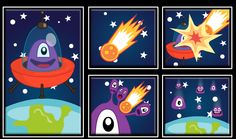 Jelly un alien bien simpático por culpa de un meteorito a destruido su nave y se a separado en varias partes http://www.ispajuegos.com/jugar7661-Jelly-Alien.html