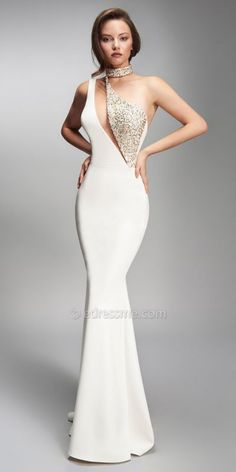 Nicole Bakti One Shoulder Cut Out Bead Embellished Long Dress Nicole Bakti One Shoulder Cut Out Perlen verziertes langes Kleid Girls Formal Dresses, Formal Gowns, Elegant Dresses, Women's Dresses, Beautiful Dresses, Fashion Dresses, Wedding Dresses, Long Dresses, Homecoming Dresses