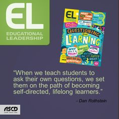"""In this Inservice post, Dan Rothstein expands on the insights in """"Making Questions Flow,"""" the article he coauthored with Luz Santana and Andrew Minigan in the September 2015 issue of Educational Leadership."""