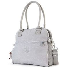 #23 My First Kipling! The Cadie Satchel Bag in Silver Glimmer- Christmas gift- new- traded online for PBB CC